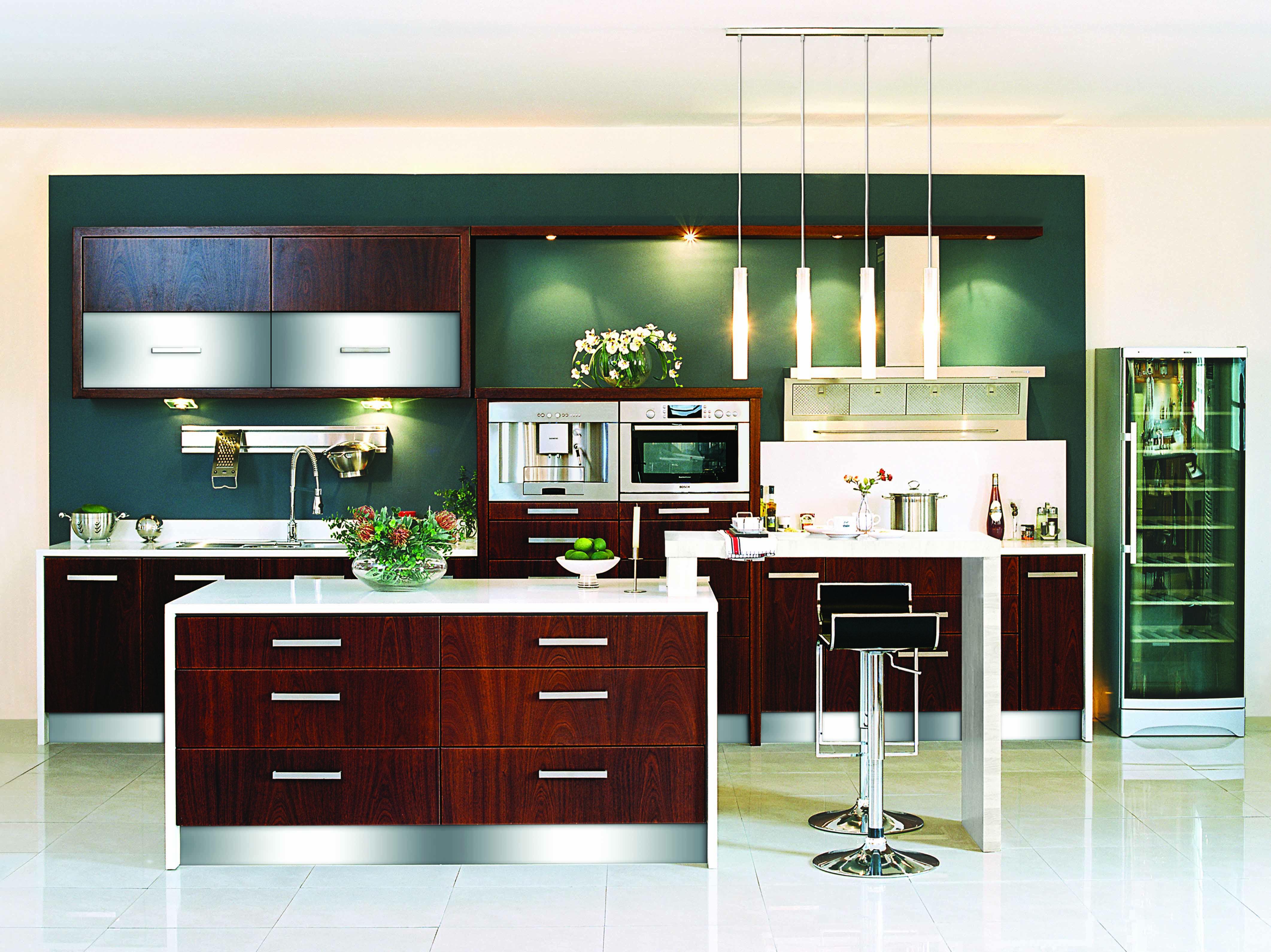showroom kitchen for sale u2013 mahogany veneer